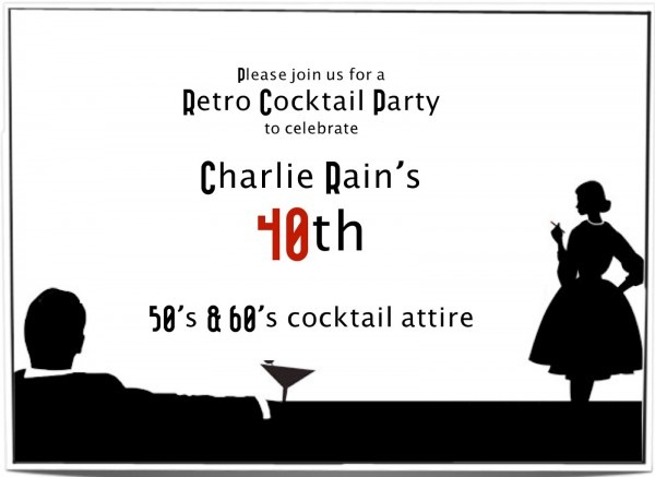 A Marmie Life  Mad Men Party
