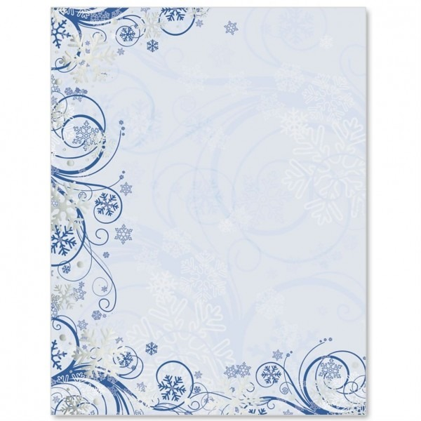 Winter Waltz Specialty Border Papers