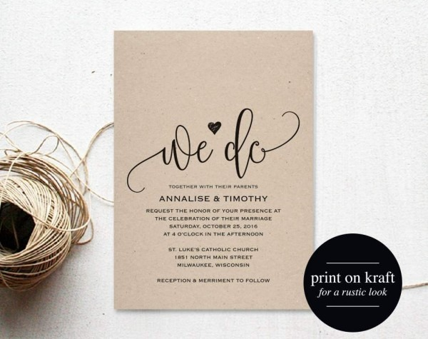 Free Wedding Invitation Templates For Word 2007 1299