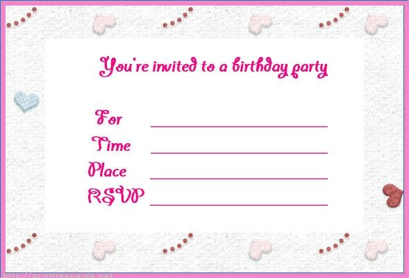 Create Online Invitation Free