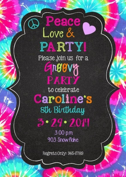 261 Best Tilla Bday Images On Best Party Invitation Collection