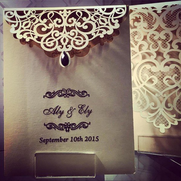 Khattab Wedding Invitations