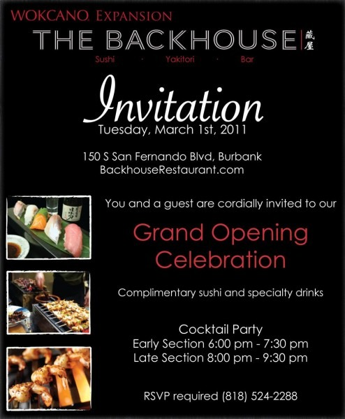 Restaurant Inauguration Invitation Card
