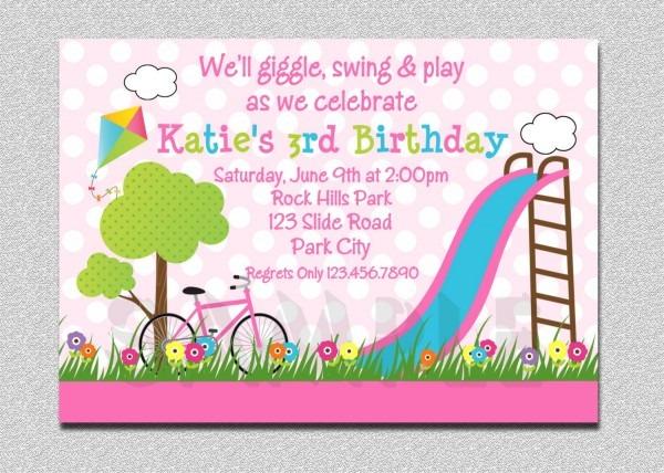 Children S 9th Birthday Party Invitation Wording