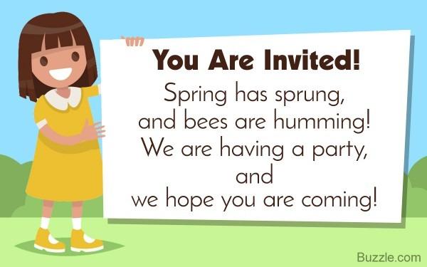 Graciously Invite People  Birthday Invitation Wording Samples