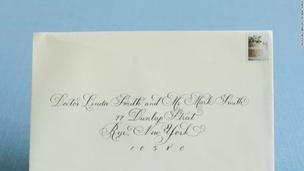 Classic Wedding Invitations For You  Addressing Wedding