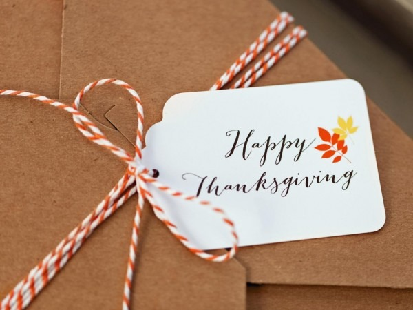 Free Thanksgiving Templates  31 Gift Tags, Cards, Crafts & More