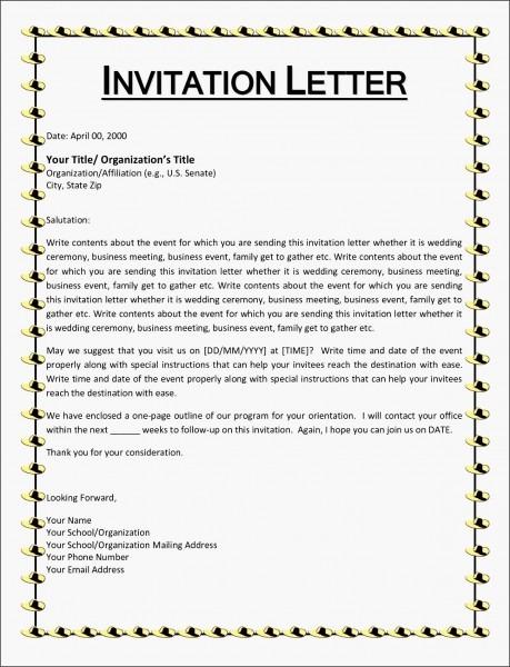 Invitation Letter Informal Saevk Beautiful Wedding Invitation