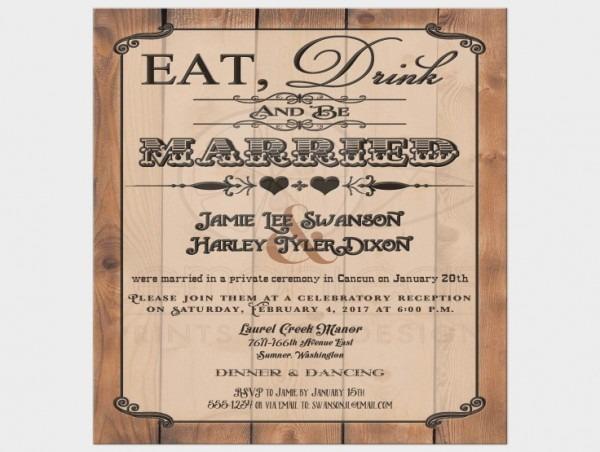 Wedding Dance Invitations