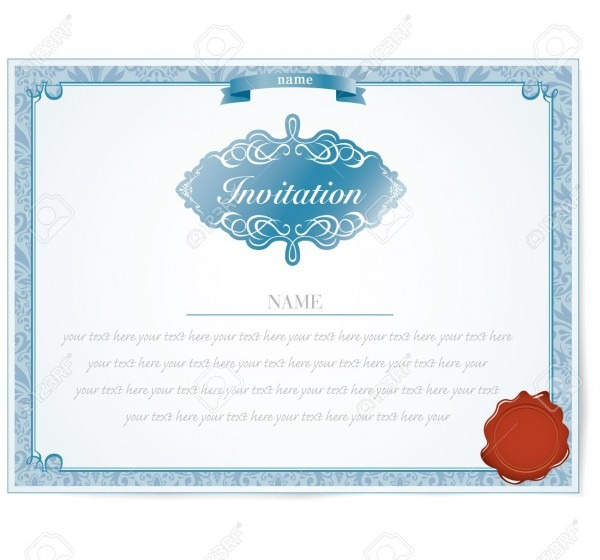 Invitation Card Design Royalty Free Cliparts, Vectors, And Stock