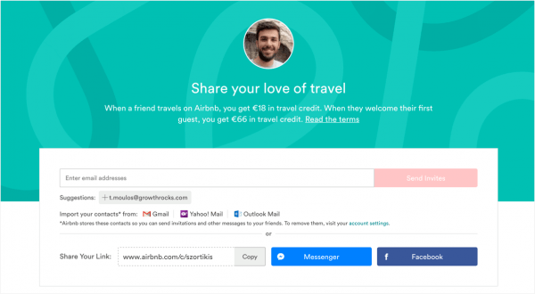 What Are Some Examples Of Great Ux For  Invite Friends   – Inside