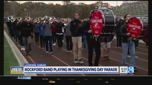 Rockford Band Ready For Macy's Thanksgiving Day Parade