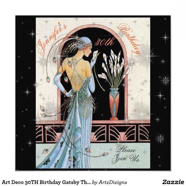 Zazzle 30th Birthday Invitations