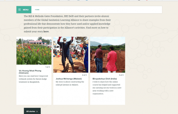 Launch Of The Global Sanitation Learning Alliance Website