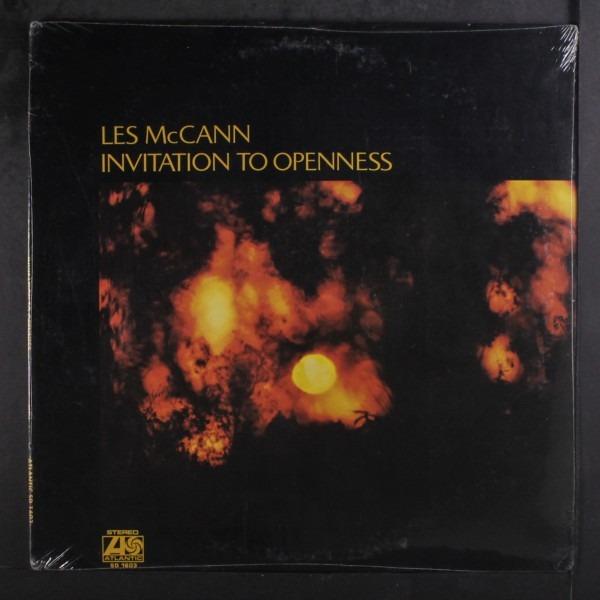 Les Mccann Invitation To Openness (vinyl Records, Lp, Cd) On Cdandlp
