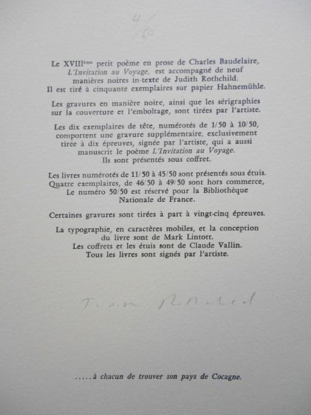 L Invitation Au Voyage Baudelaire Poème En Prose