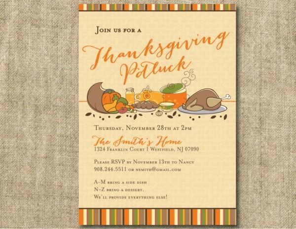 Luxury Thanksgiving Email Invitation Template Kinoweb Org E