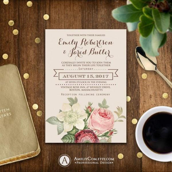 Free Wedding Invitation Templates Uk 1304