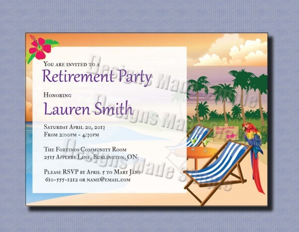 Retirement Party Invitations Template 2xizvtxm