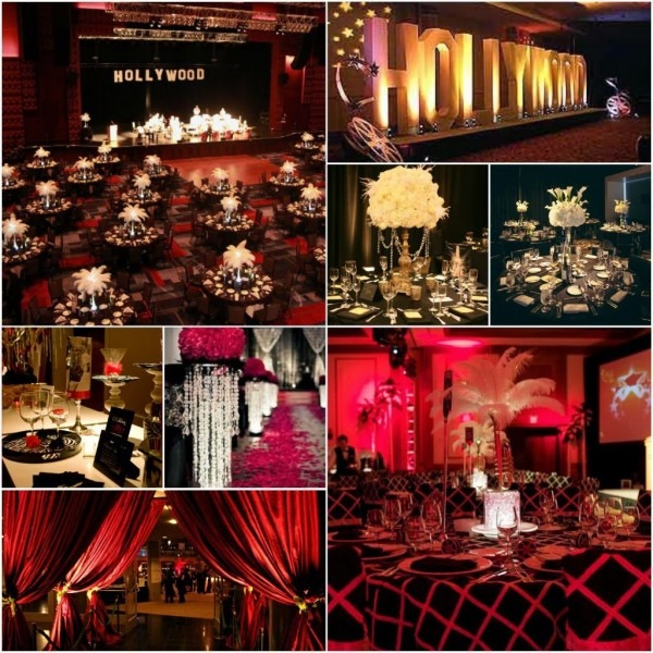 Hollywood Glamour Party Invitations