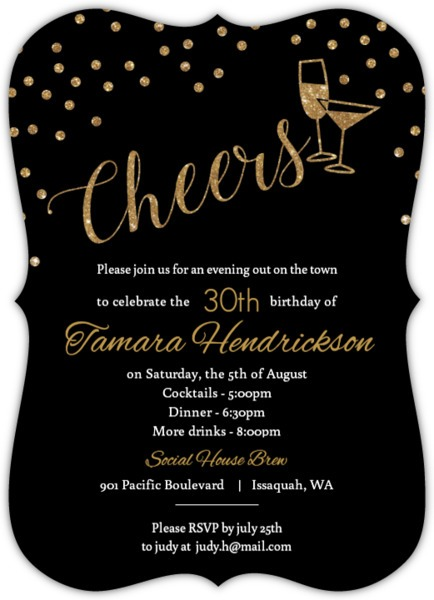 30th Birthday Invitation Wording Vintage With 30th Birthday