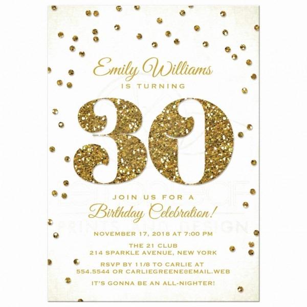 Invitation  30th Birthday Invitation Wording