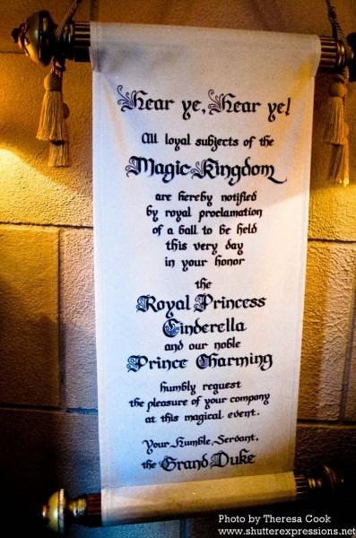 Royal Ball Invitation