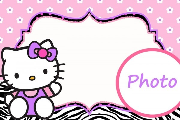 Personalized Hello Kitty Invitation Template