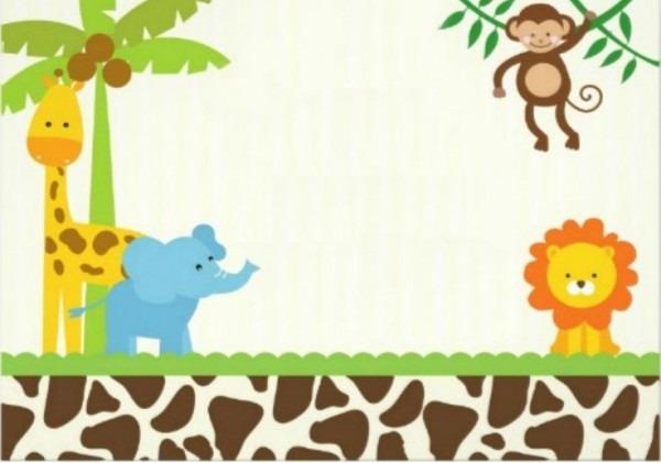 40th Birthday Ideas Safari Invitation Template Free Zoo Sample Of
