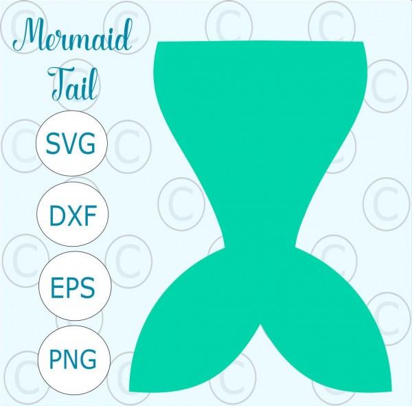 Mermaid Tail Svg Cut File, Svg Files, Mermaid Tail Svg, Mermaid