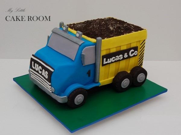 Dump Truck Cake Template