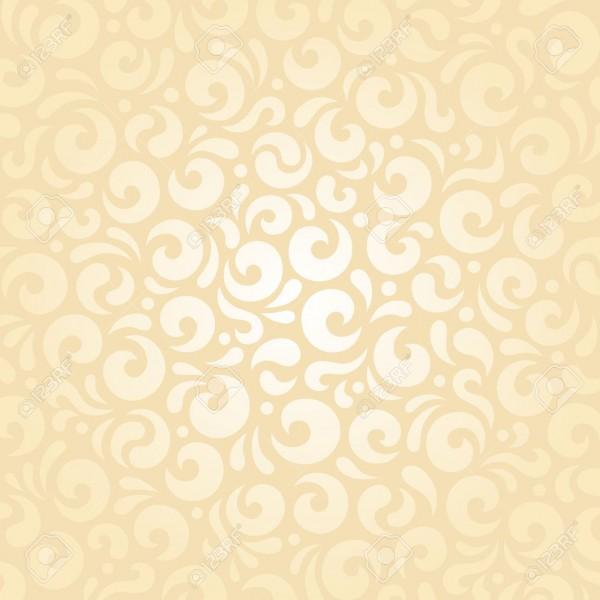 Retro Wedding Pale Peach Invitation Background Design Wallpaper