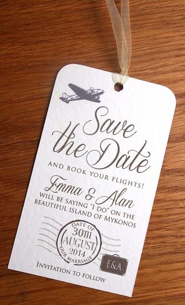Most Unique Save The Dates