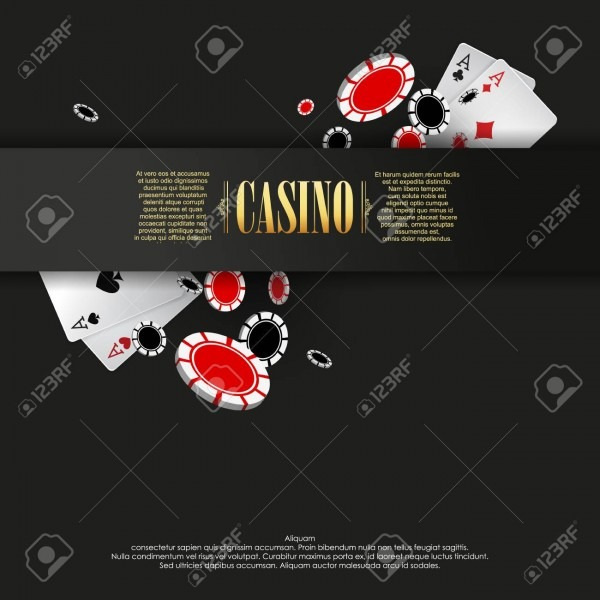 Casino Poster Or Banner Background Or Flyer Template  Casino