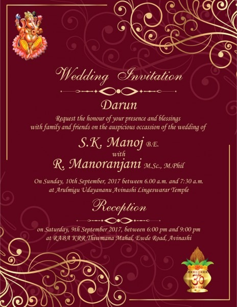 Entry  8 By Gurpreetkaur17 For Design A South Indian Marriage