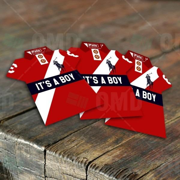 Boys Polo Shirt Invites In 2018