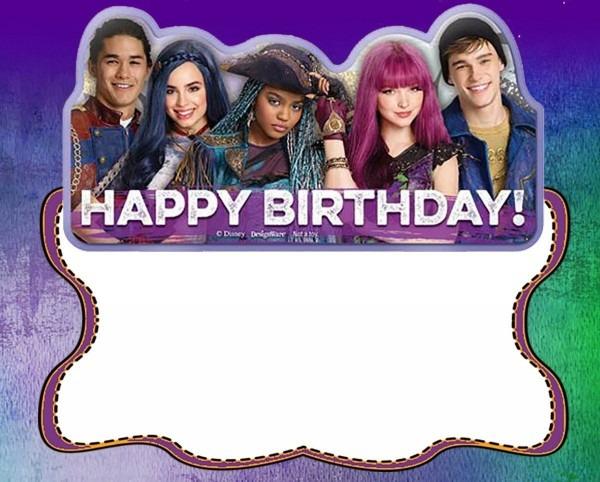 Descendants Birthday Party Invitation Card