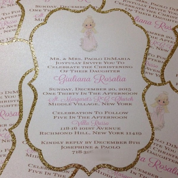Angel Invitation Precious Moments Invitation Made By Place Of