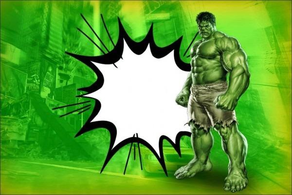 Hulk Zadarmo Pre Tlač Pozvánok