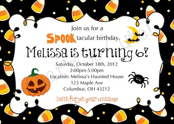 Download Free Template Free Printable Halloween Birthday Party