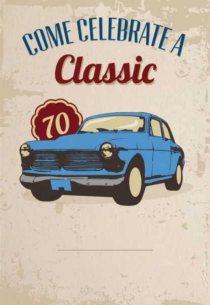 Car Classic 70th Birthday