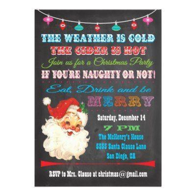 Funny Christmas Invites