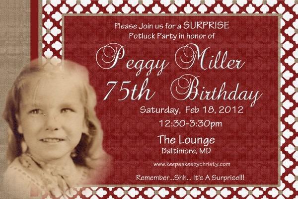 70th Birthday Invitations Sayings