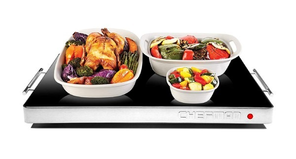 Amazon Com  Chefman Electric Warming Tray With Adjustable
