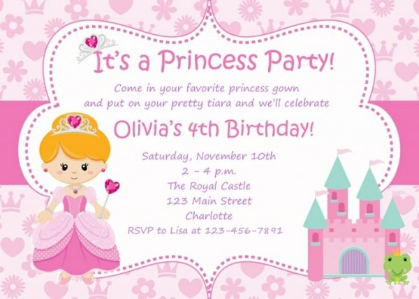 Card Birthday Invitations
