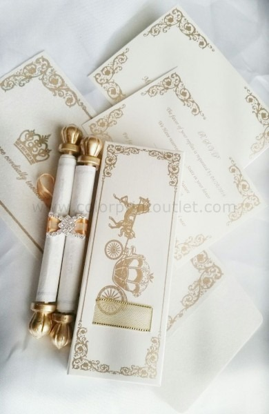 Mini Scroll With Matching Pouch & Envelope (set Of 25)