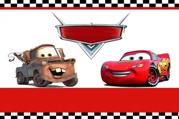 Lightning Mcqueen Invitation Templates Cars Party Online