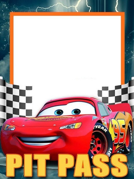 Lightning Mcqueen Invitation Template Free