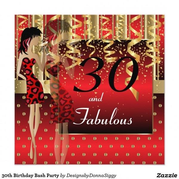 30th Birthday Bash Party