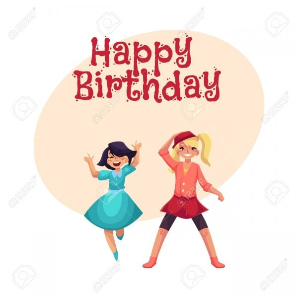 Happy Birthday Vector Greeting Card, Poster, Banner Design With